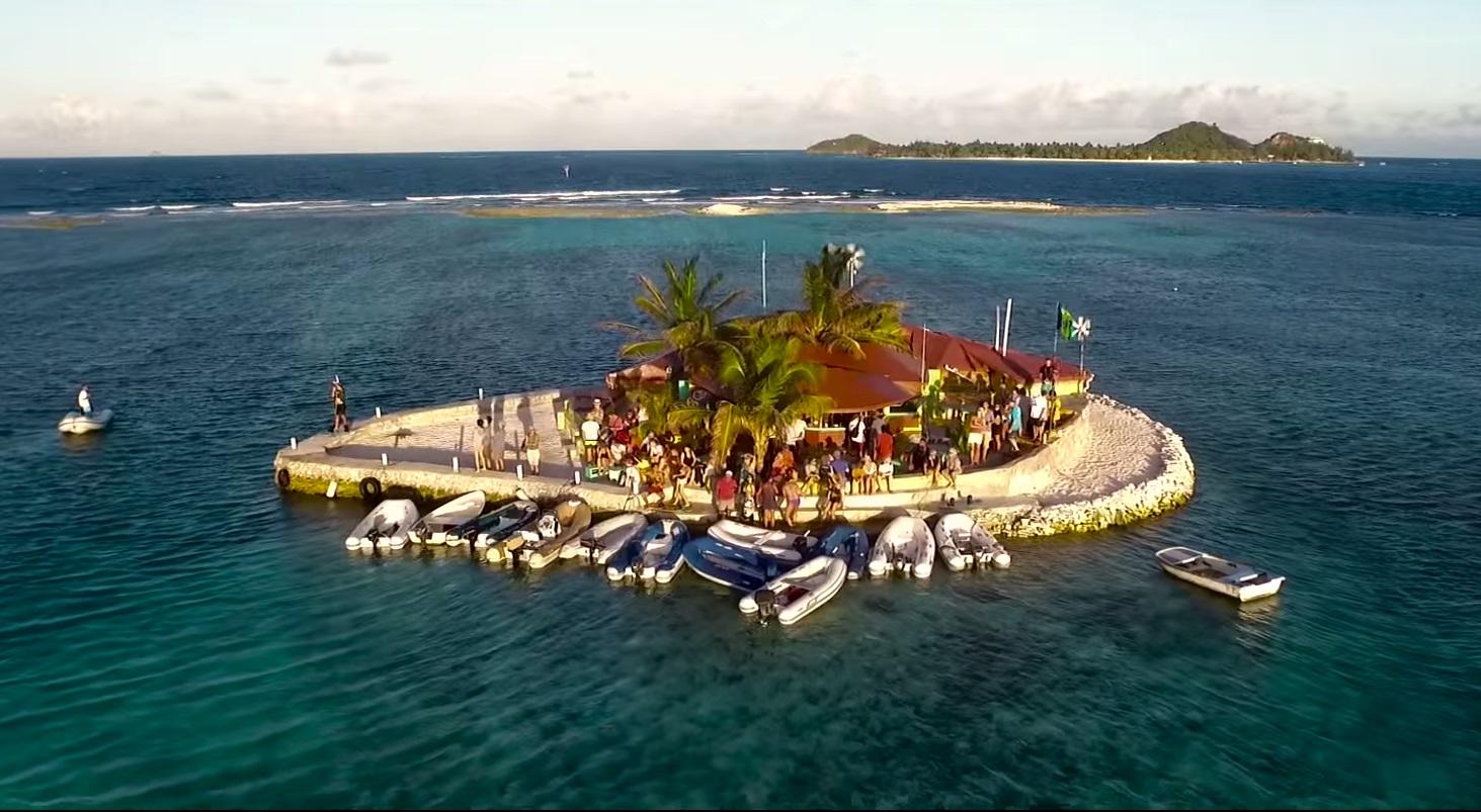 Kitesurfing Union Island Feat Jeremie Tronet Craig