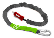 NP Team Rider Handle Pass Leash - Black/Green