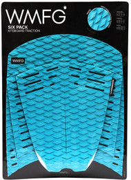 WMFG Six Pack Traction Pads - Teal/White