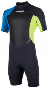 2018 Mystic Star Shorty 3/2 BZ Wetsuit - Lime