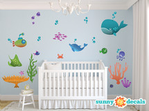 Under the Sea Wall Decals - Sunny Decals