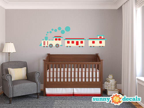 Train Wall Decals   Sunny Decals