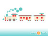 Train Wall Decals - Detailed - Sunny Decals