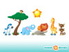 Jungle Wall Decal - Detailed - Sunny Decals