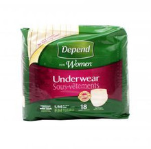 Depend Women Maximum Absorbency Underwear