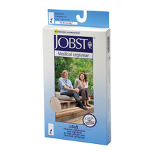 Jobst soSoft Ribbed, Knee High Closed Toe 15-20 mmHg