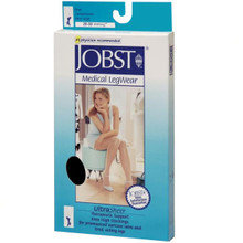 Jobst UltraSheer, Knee High Closed Toe 15-20 mmHg