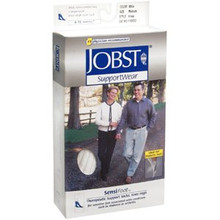 Jobst SensiFoot Diabetic Sock, Knee High, Closed Toe 8-15mmHg