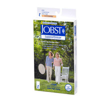 Jobst SoSoft Ribbed, Knee High Closed Toe 8-15mmHg