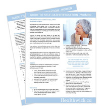 Healthwick Guide to Self Catheterization - Women  - Download
