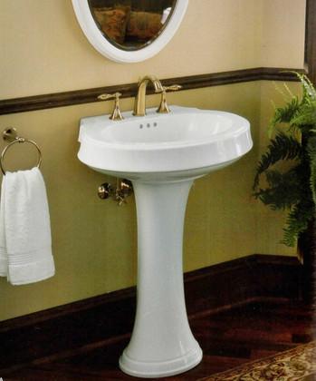 Leighton Pedestal Sink