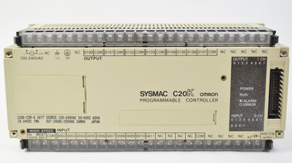 Omron Sysmac C20K-CDRA  Front View