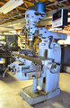 "Induma 1-S Vertical Milling Machine, 9"" x 42"" Table, R-8 Collets, Exceptionally nice condition!!"