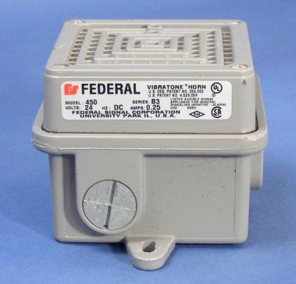 FEDERAL SIGNAL VIBRATONE HORN  M/N 450-024-31