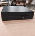 NCR 2181-2105 RealPOS Cash Drawer, Full Size, Media Slots Black