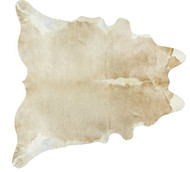 Beige Two Tone Cowhide