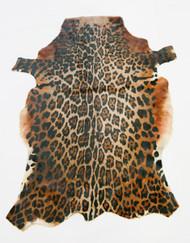 Jaguar Cowhide Rug