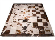 Tri Colour Patchwork Rug