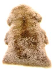 Brown Merino Sheepskin Rug