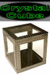 NEW  - Crystal Cube - 4 Inch - Object vanish and appear with in this clearly empty box!