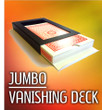 Jumbo Vanishing Deck Disappearing Card Case Gospel Magic Trick
