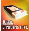 Jumbo Vanishing Deck Disappearing Card Case Gospel Magic Trick