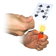 NEW - Hot Spots - The spots on the cards disappear with a little heat. Transformation/ Holy Spirit / Forgiveness DiFatta's Cardicians Dream