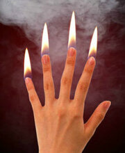 DiFatta Magic Trick Flames from Fingertips