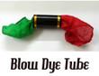 Blow Dye Tube Magic Trick