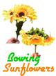 Bowing Sun Flower Magic Trick