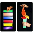 Flip Flap Production Panels Multicolored Rainbow Magic Trick Box Illusion