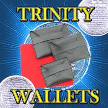 Trinity Wallet Gospel Magic Trick Coin in Wallet Nest