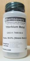 Ytterbium Metal, Pieces, 99.9% (Metals Basis), Certified, 5g