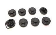 Joker Machine Honda Valve Tappet Covers 8 Pack - Black