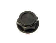 Joker Machine Aluminum Steering Stem Nut - Black - CB350 CB400 CB450 CB500 CB550 CB750