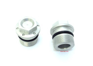Joker Machine Fork Tube Plugs - 35mm - Silver