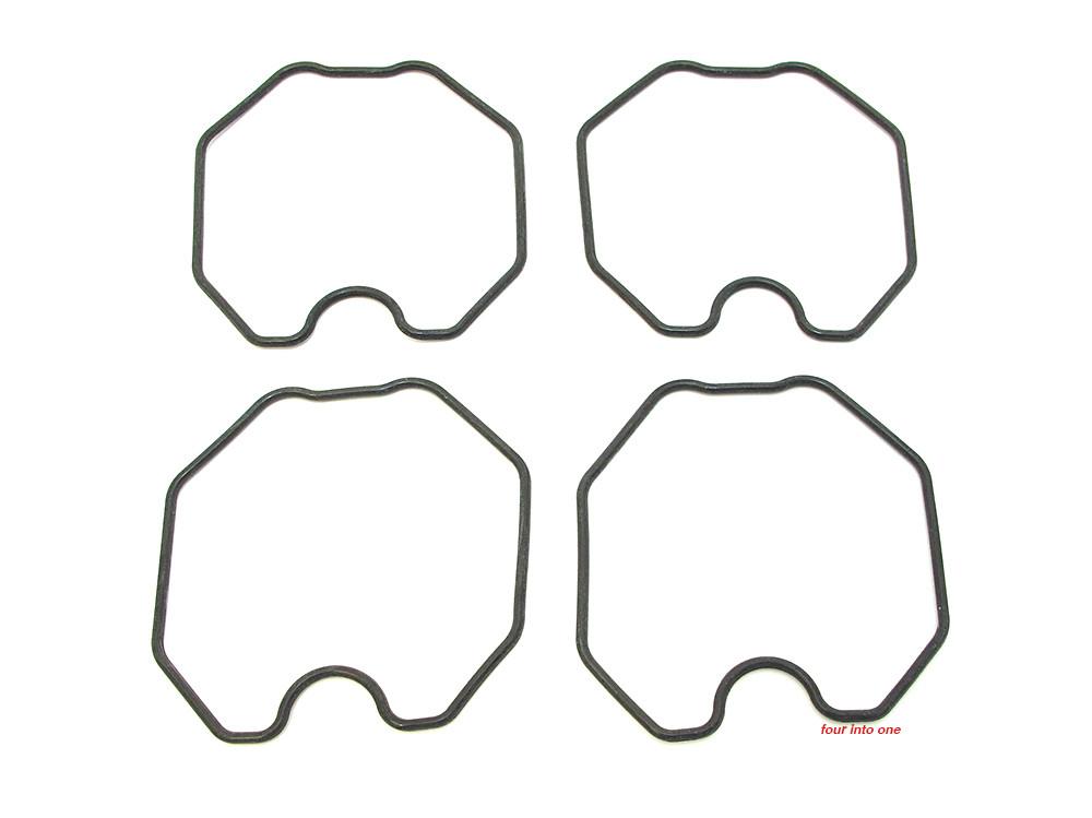 shaped o-ring float bowl gasket - set of 4