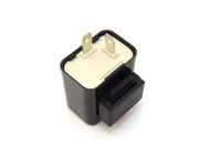 Emgo - Suzuki OEM Style - 12V Turn Signal Flasher Relay - 2 Prong - Square Style