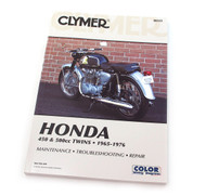 Clymer Manual - Honda 450 & 500cc Twins - 1965-1976