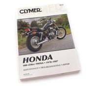 Clymer Manual - Honda 400-450cc Twins - 1978-1987