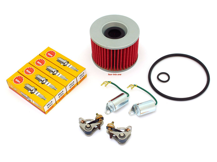 tune up kit honda cb750 1969 1978 4into1 com ford alternator wiring diagram