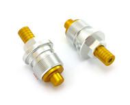 TTR400 Preload Adjuster Set - 35mm - Silver & Gold
