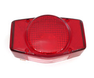 Reproduction Honda Tail Light Lens - 33702-341-671 - CB100/175/200/350/360/400F/450/500/550/750