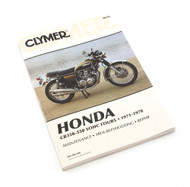 Clymer Manual - Honda CB350-550 SOHC Fours 1971-1978