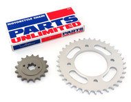 Parts Unlimited Chain and Sprocket Kit - Honda CB550