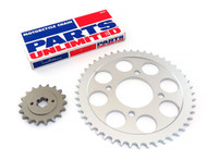 Parts Unlimited Chain and Sprocket Kit - Honda CB750K - 1971-1976