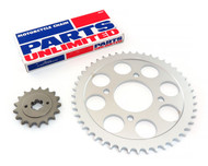 Parts Unlimited Chain and Sprocket Kit - Honda CB750F - 1975-1976