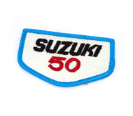 NOS Vintage Suzuki 50 Patch