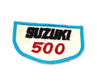 NOS Vintage Suzuki 500 Patch