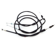 Control Cable Set - Honda CB400F 1975-1976 - Black